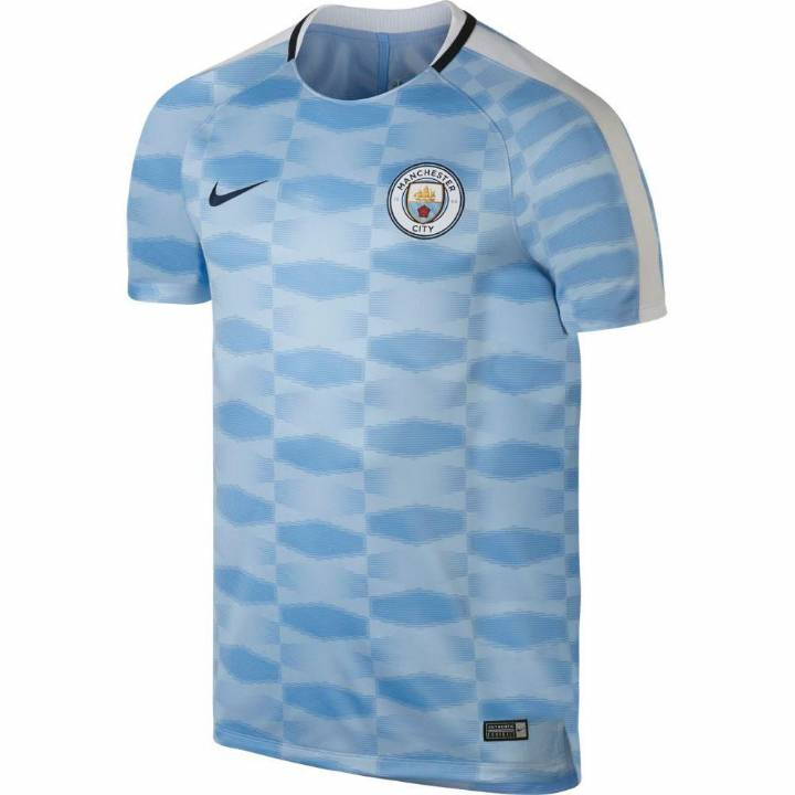 Nike Manchester City Squad Pre-Match Shirt 2017/18 - Mens Image