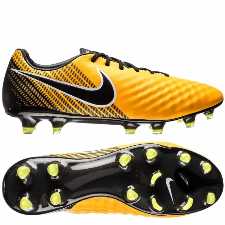 Nike Magista Opus II Firm Ground Football Boots - Laser Orange/Black/White/Volt Image