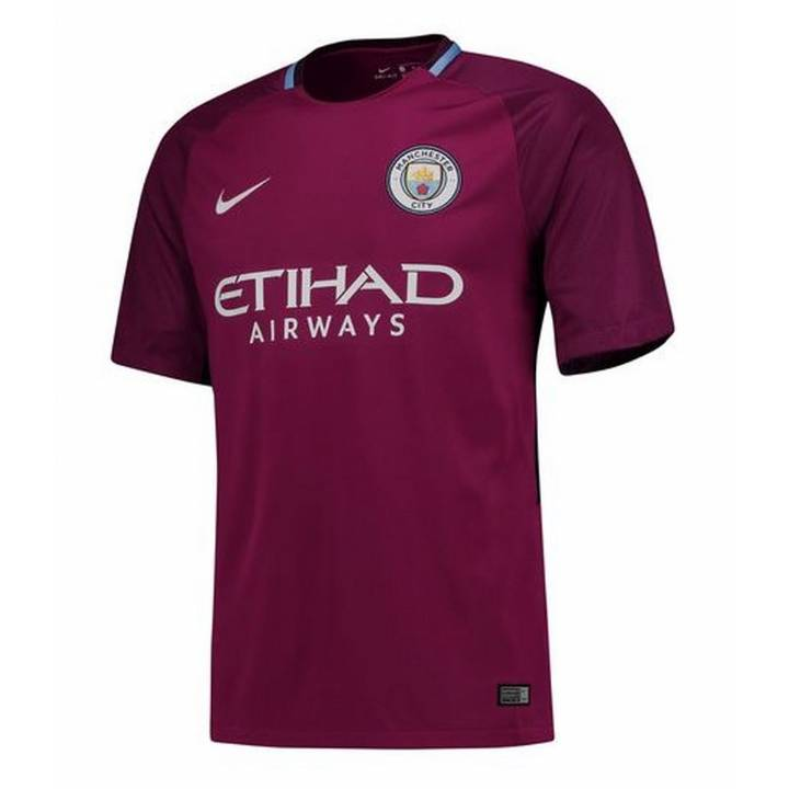 Nike Manchester City Away Shirt 2017/18 - Mens Image
