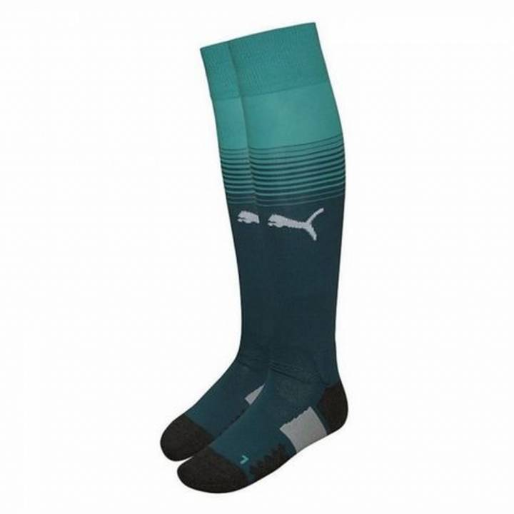 Puma Arsenal Home Goalkeeper Socks 2017/18 - Kids Image