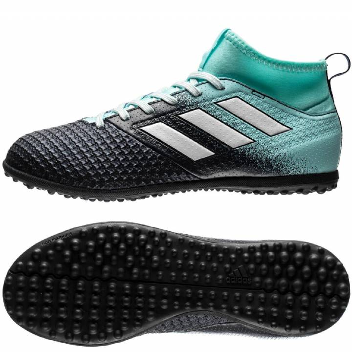 adidas Ace Tango 17.3 Astroturf Trainers - Energy Aqua/White/Legend Ink - Kids