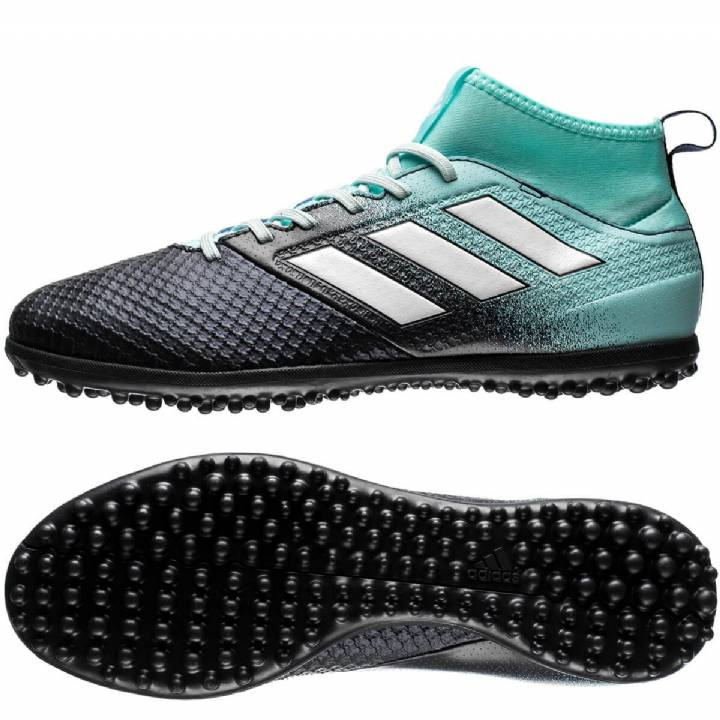 adidas Ace Tango 17.3 Astroturf Trainers - Energy Aqua/White/Legend Ink