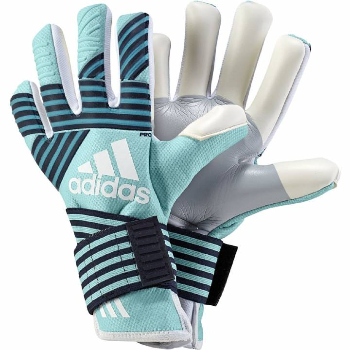 adidas Ace Trans Pro Goalkeeper Gloves - Energy Aqua/Energy Blue/Legend Ink Image