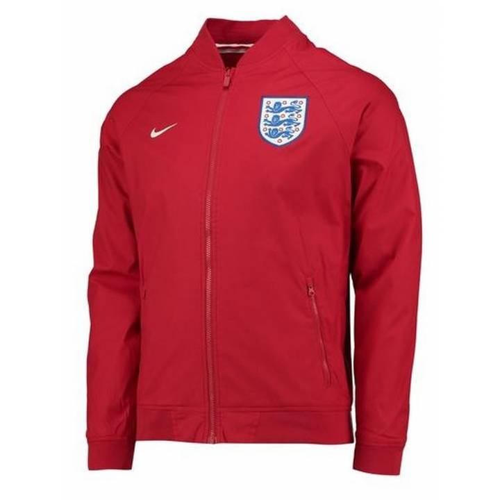 Nike England Authentic Varsity Jacket 2016/17 -Red - Mens Image
