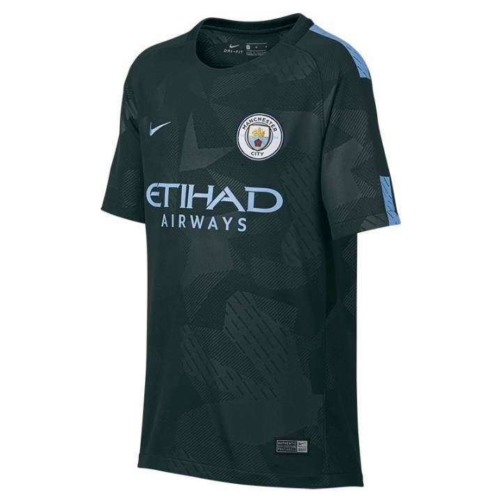 Nike Manchester City Third Shirt 2017/18 - Kids Image