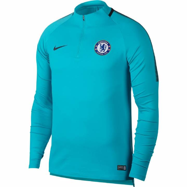 Nike Chelsea Training Squad Drill Top 2017/18 - Omega Blue- Mens Image