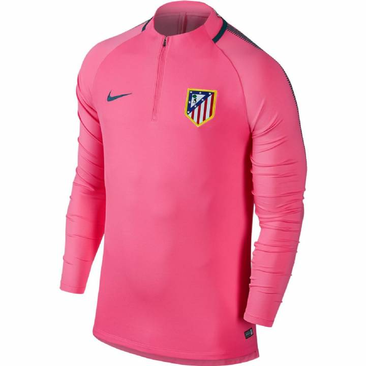 Nike Atletico Madrid Training Squad Drill Top 2017/18 - Pink - Mens Image