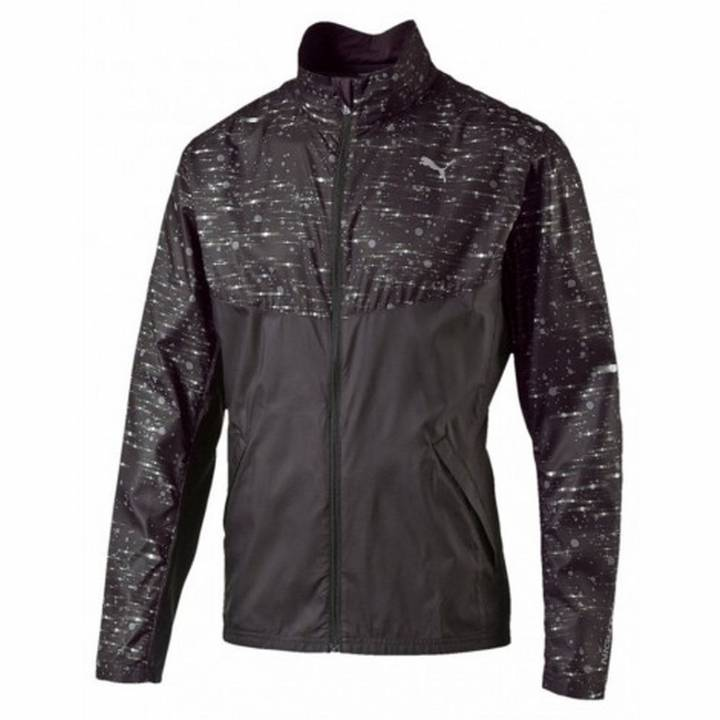 Puma NightCat Running Jacket - Black - Mens Image