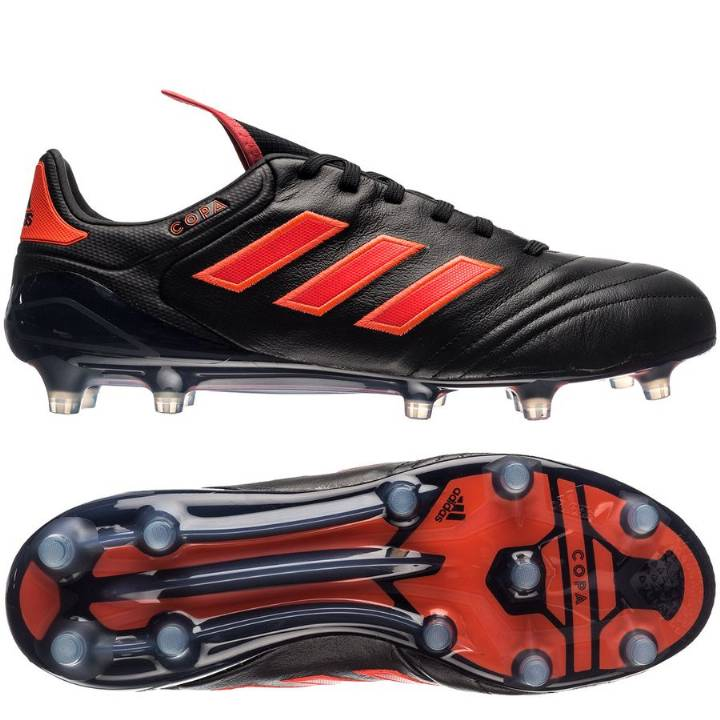adidas Copa 17.1 FG Firm Ground Football Boots - Core Black/Solar Red/Solar Red Image