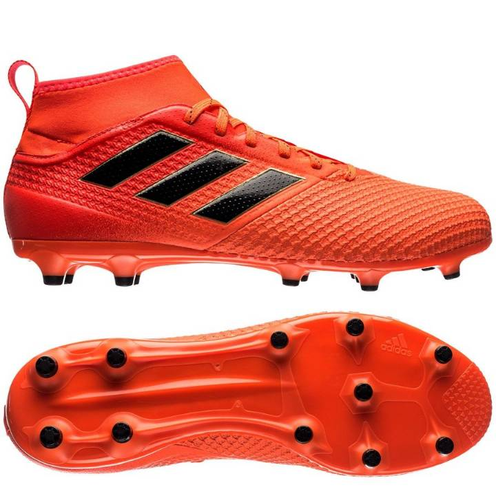 adidas Ace 17.3 Firm Ground Football Boots - Solar Orange/Core Black/Solar Red Image