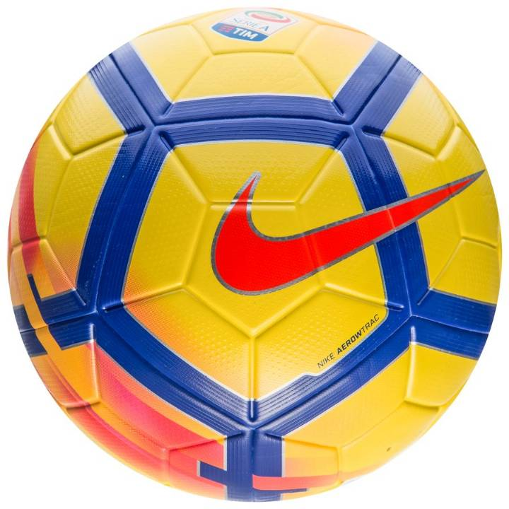 Nike Serie A Ordem V Hi-Vis Match Football - Yellow Image