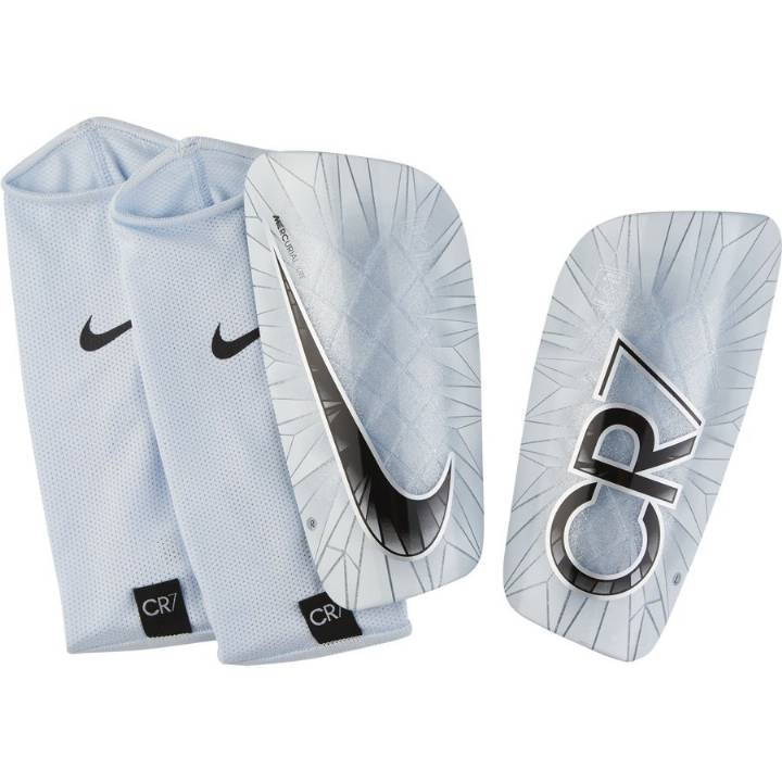 Nike CR7 Mercurial Lite Shin Guards - White - Mens Image