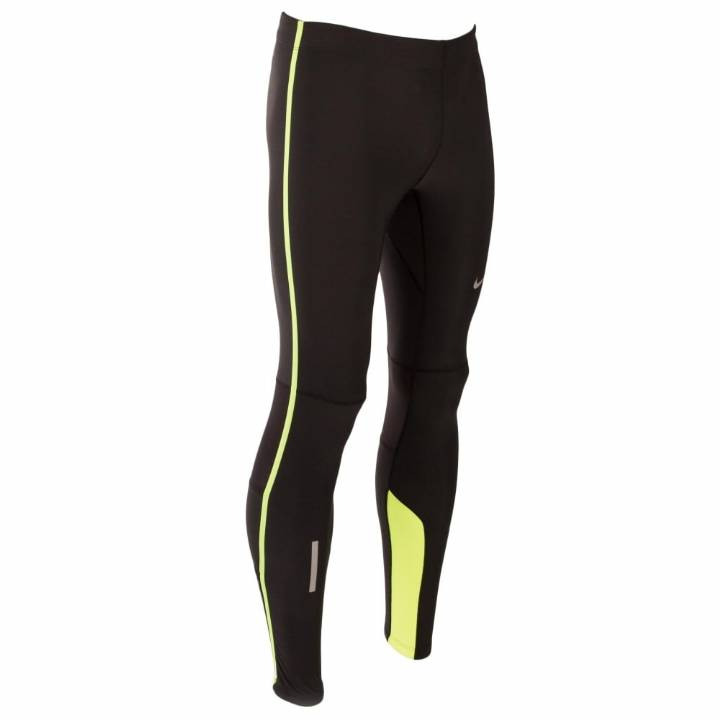 Nike Tech Running Tights - Black - Mens Image
