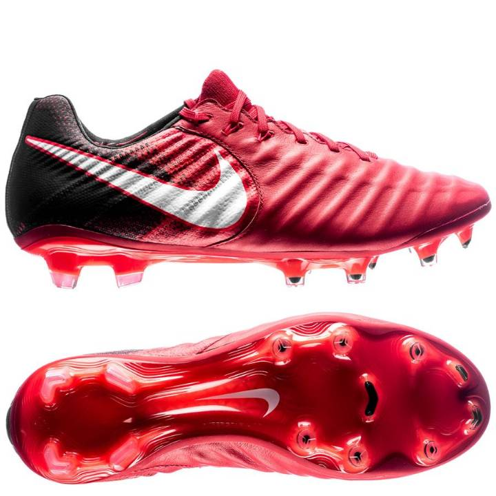 Nike Tiempo Legend VII Firm Ground Football Boots - University Red/Black/Bright Crimson/White Image