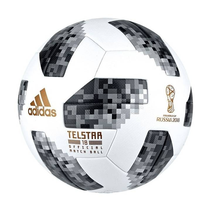 adidas Telstar World Cup 2018 Official Match Football - White Image