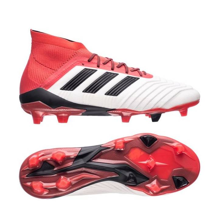 83e468abe02578 ... low price adidas predator 18.1 firm ground football boots footwear white  core black real coral adidas