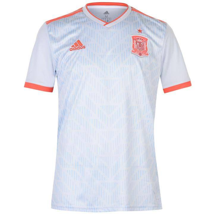 buy online a8d2c 9e7f2 adidas Spain Away Shirt 2018 19 - Mens Image