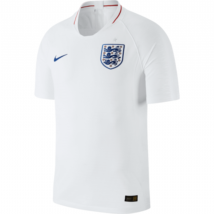 Nike England Home Vapor Match Shirt 2018/19 - Mens Image