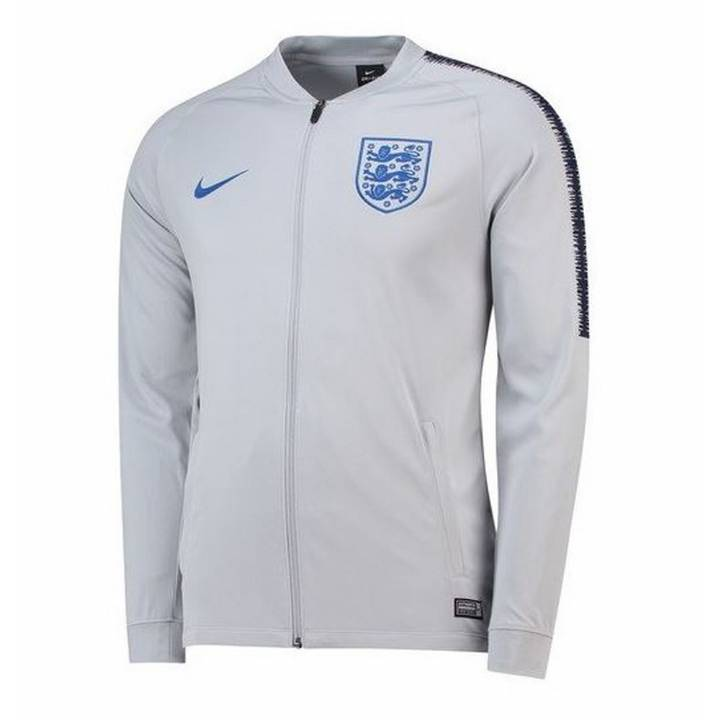 Nike England Training Squad Track Jacket 2018/19 - Grey - Mens Image