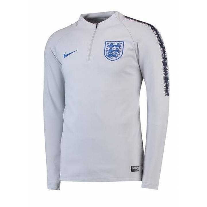 Nike England Training Squad Drill Top 2018/19 - Grey - Mens Image