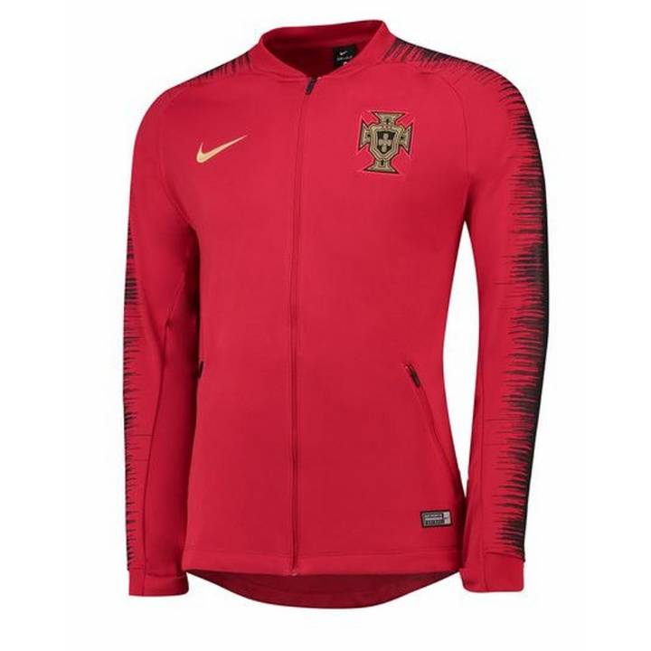 Nike Portugal Anthem Training Jacket 2018/19 - Red - Mens Image