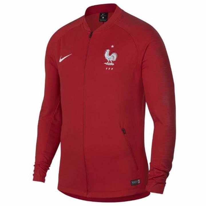 Nike France Anthem Jacket 2018/19 - Red - Mens Image