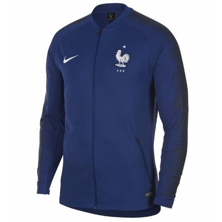 Nike France Anthem Jacket 2018/19 - Blue - Mens Image