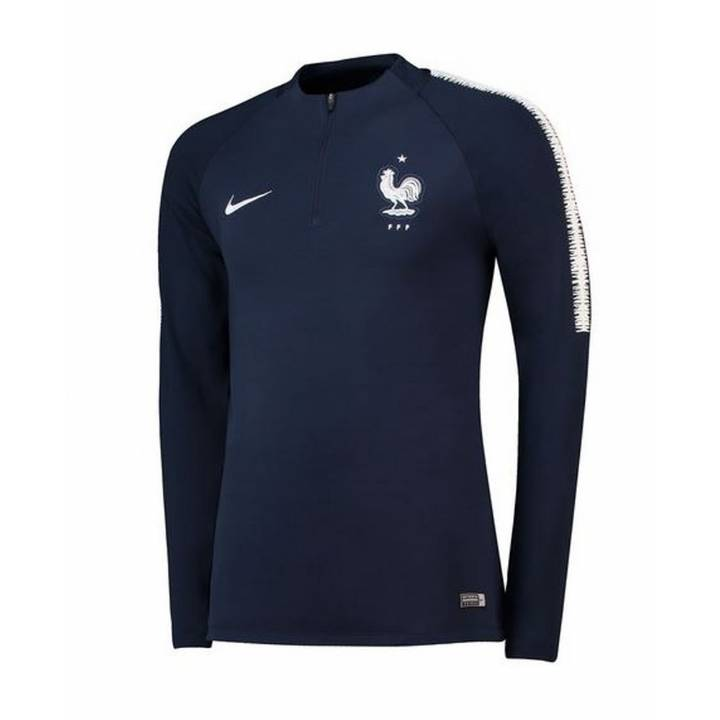 Nike France Training Squad Drill Top 2018/19 - Navy - Mens Image