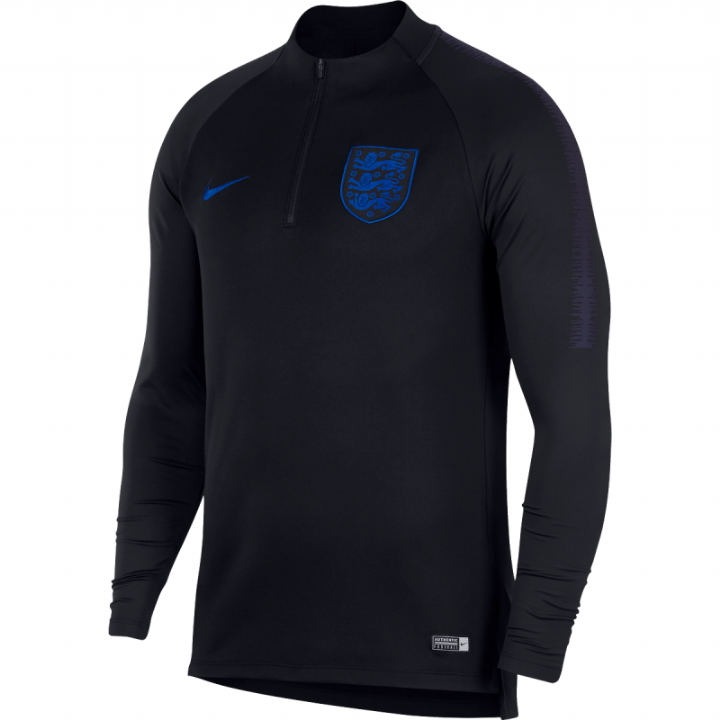 Nike England Training Squad Drill Top 2018/19 - Black - Mens Image