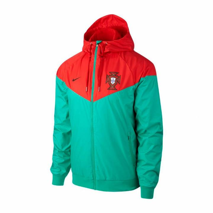 Nike Portugal Authentic Woven Windrunner Jacket 2018/19 - Green - Mens Image