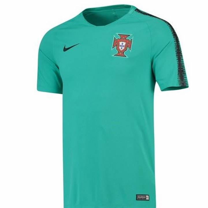 Nike Portugal Squad Training Shirt 2018/19 - Green - Mens Image