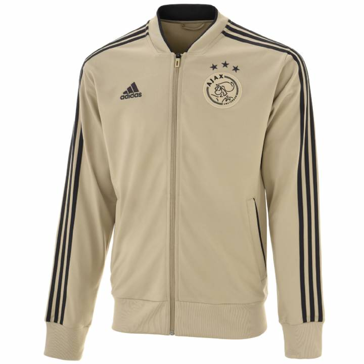 adidas Ajax Training Jacket 2018/19 - Gold - Mens Image