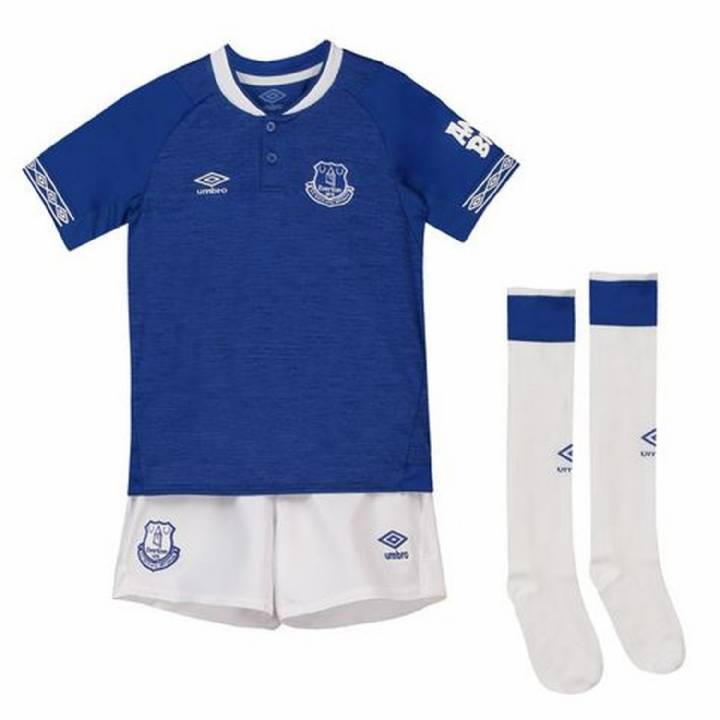 Umbro Everton Home Kit 2018/19 - Little Kids Image