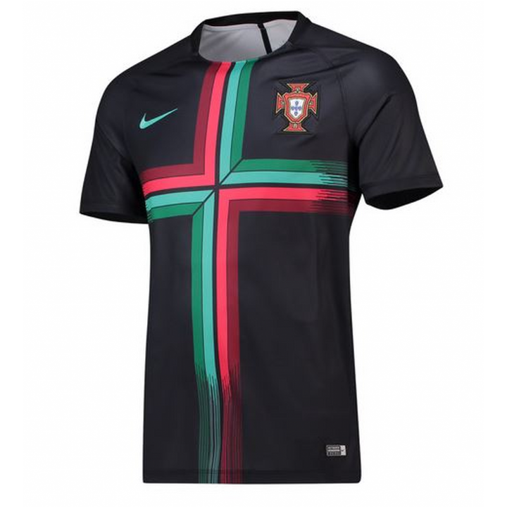 Nike Portugal Squad Training Shirt 2018/19 - Black - Mens Image