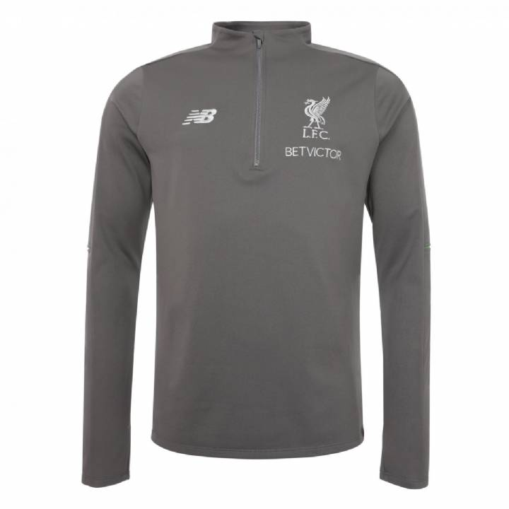 New Balance Liverpool Training Hybrid Sweater 2018/19 - Grey - Mens Image