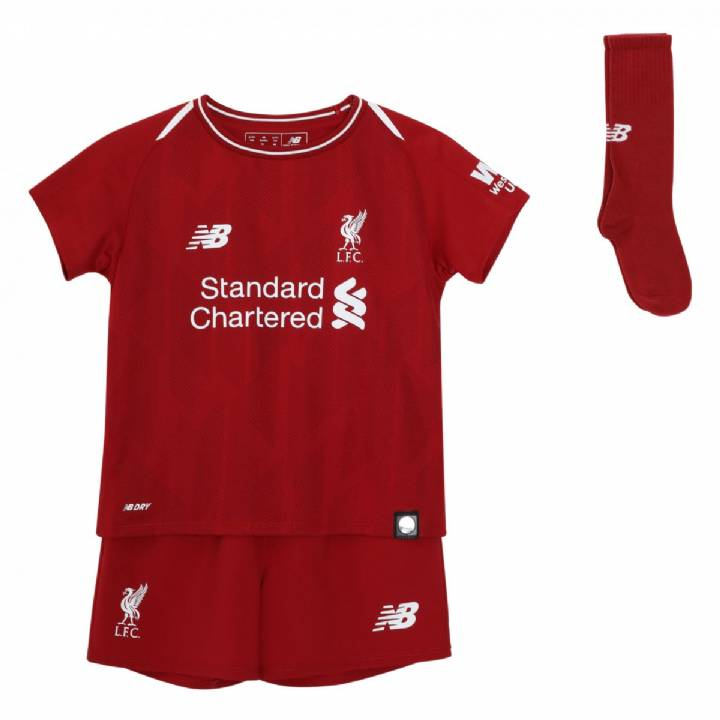 New Balance Liverpool Home Kit 2018/19 - Infants Image