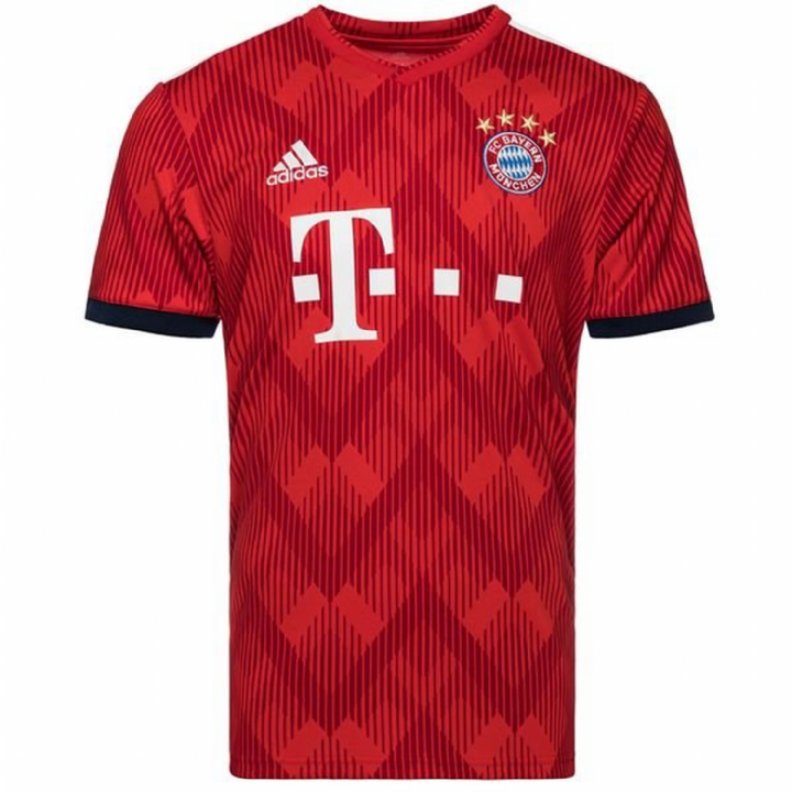 adidas Bayern Munich Home Shirt 2018/19 - Mens Image