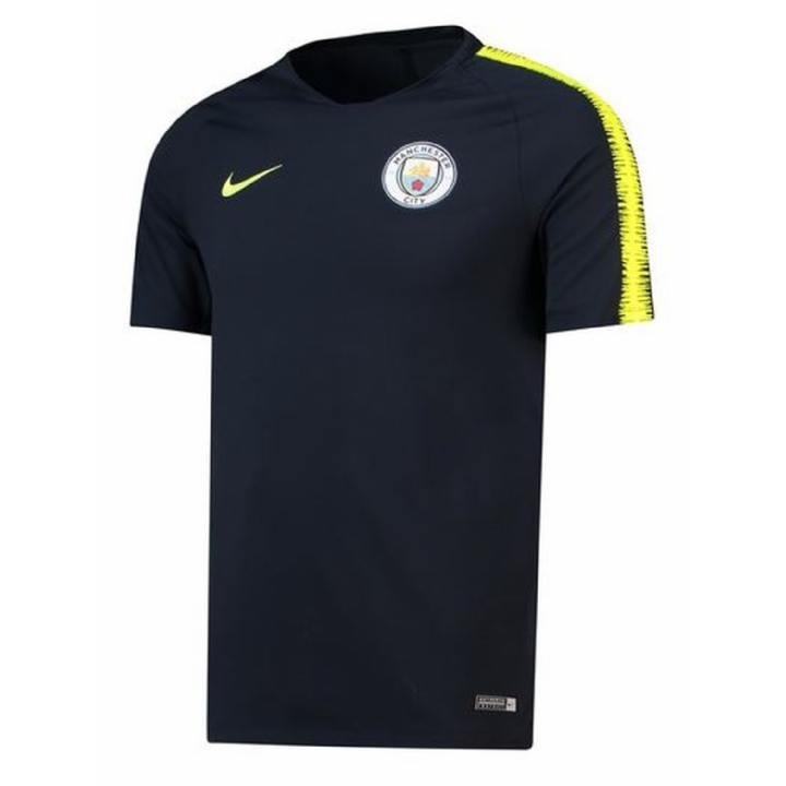 Nike Manchester City Squad Training Shirt 2018/19 - Mens Image