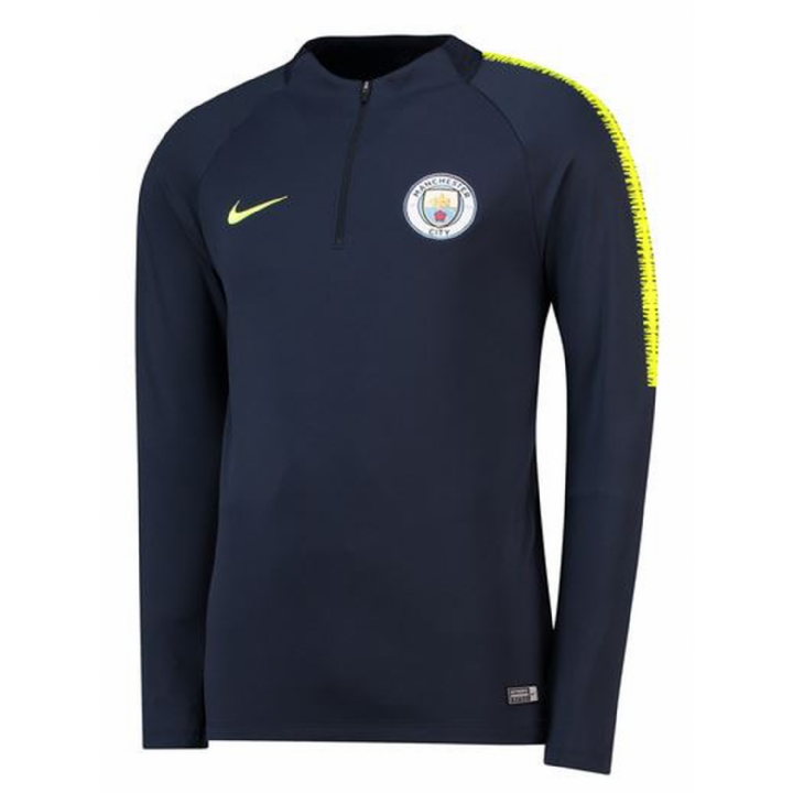 Nike Manchester City Training Squad Drill Top 2018/19 - Mens Image