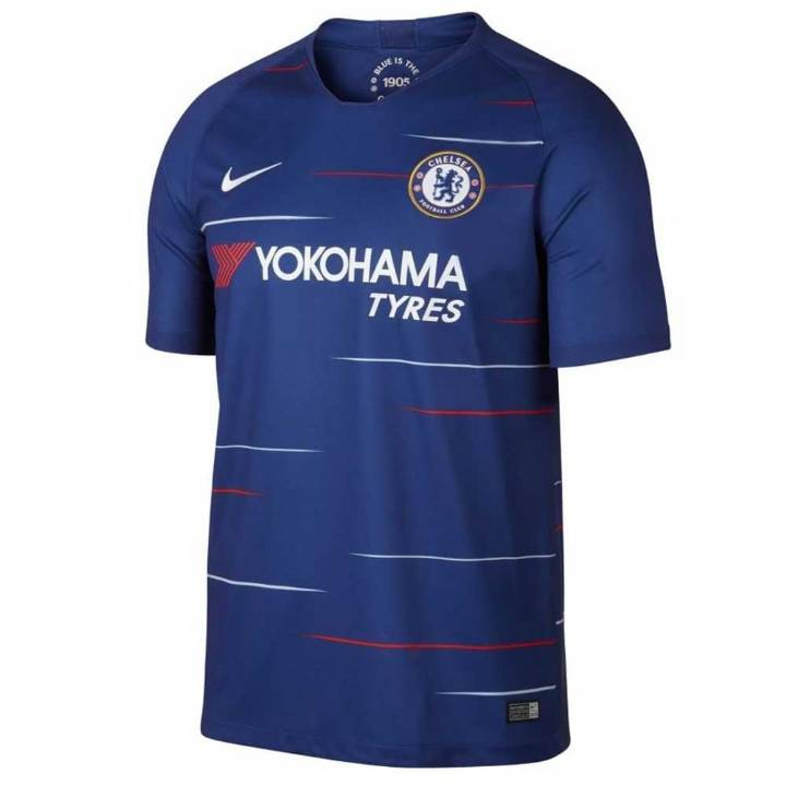 Nike Chelsea Home Shirt 2018/19 - Mens Image