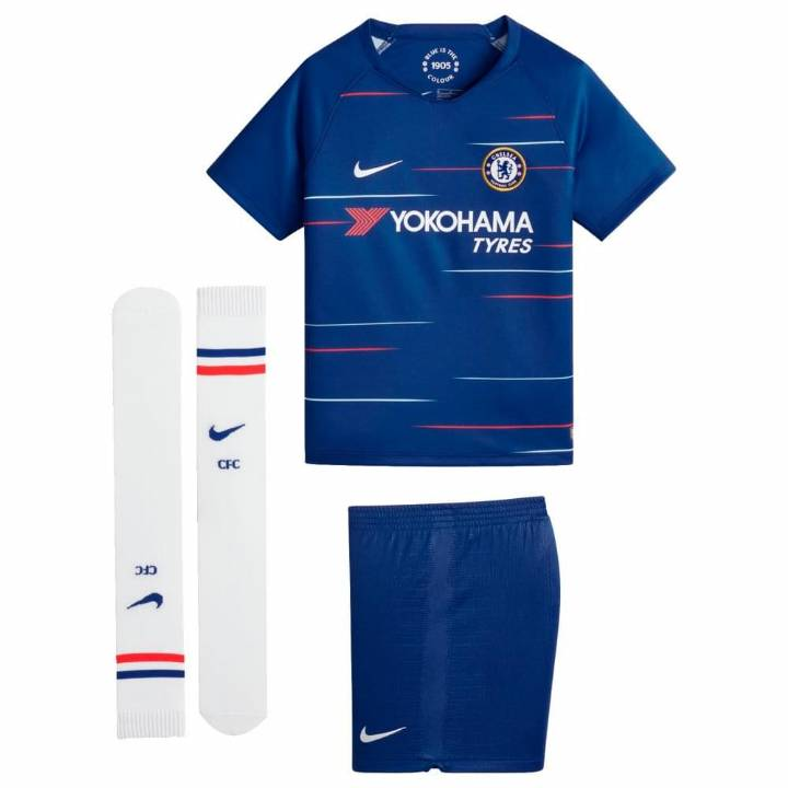 Nike Chelsea Home Kit 2018/19 - Little Kids Image