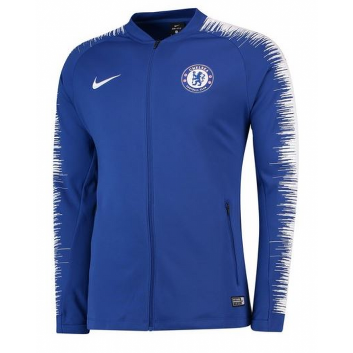 Nike Chelsea Anthem Training Jacket 2018/19 - Blue - Mens Image