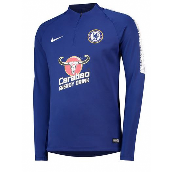 Nike Chelsea Training Squad Drill Top 2018/19 - Blue - Mens Image