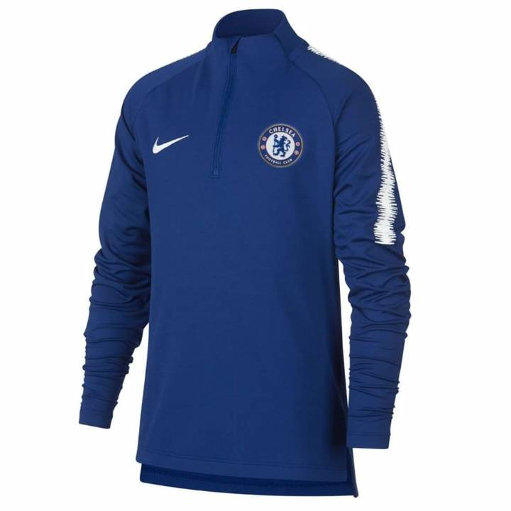 Nike Chelsea Training Squad Drill Top 2018/19 - Blue - Kids Image