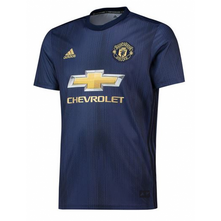 adidas Manchester United Third Shirt 2018/19 - Mens Image