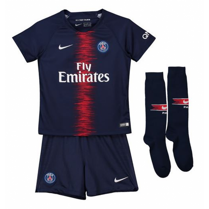 Nike Paris Saint Germain Home Kit 2018/19 - Little Kids Image