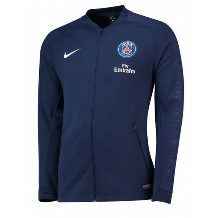 Nike PSG Paris Saint Germain Training Anthem Jacket 2018/19 - Navy - Mens Image