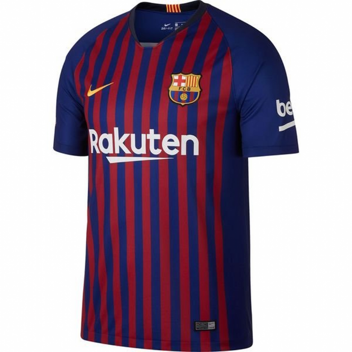 Nike Barcelona Home Shirt 2018/19 - Kids Image