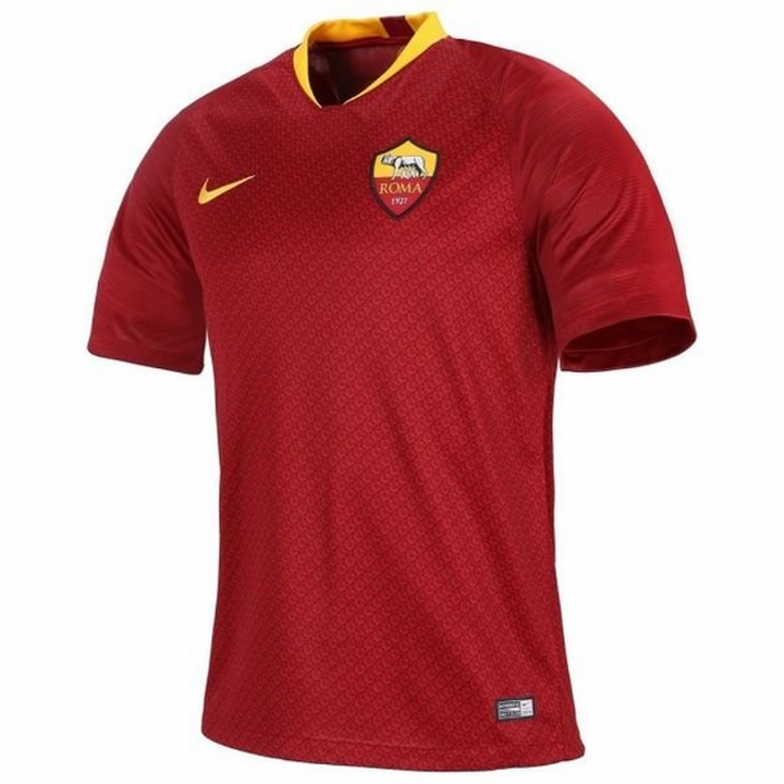 Nike AS Roma Home Shirt 2018/19 - Mens Image