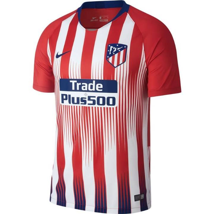 Nike Atletico Madrid Home Shirt 2018/19 - Mens Image
